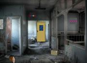 Abandoned Hospital Corridor Escape