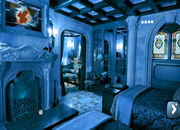 Gothic Blue Room Escape